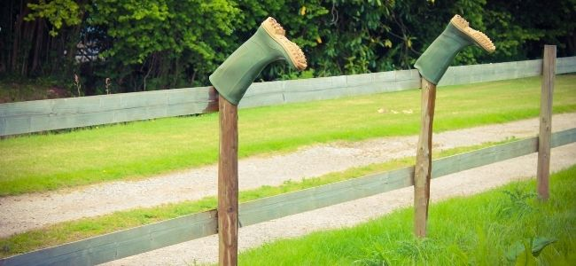 how to dry wellies fast